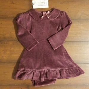 Organic Cotton Velour L'ovedbaby Dress